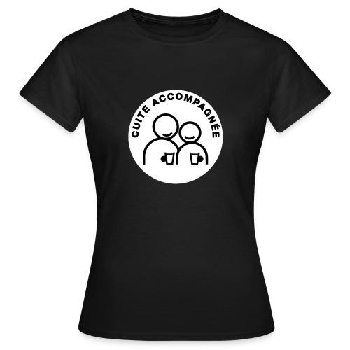 Tee-shirt Femme Cuite accompagnée - T-shirt Femme