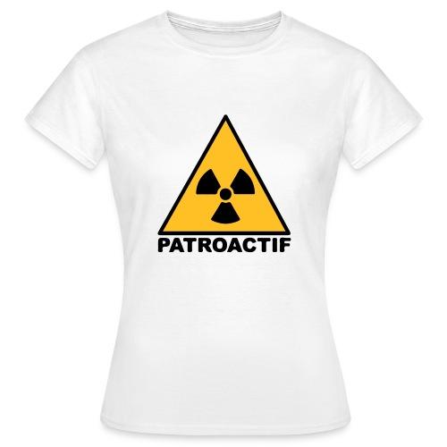 Tee-shirt Femme Patroactif - T-shirt Femme