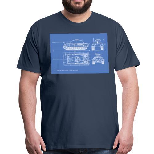 Königstiger - Männer Premium T-Shirt