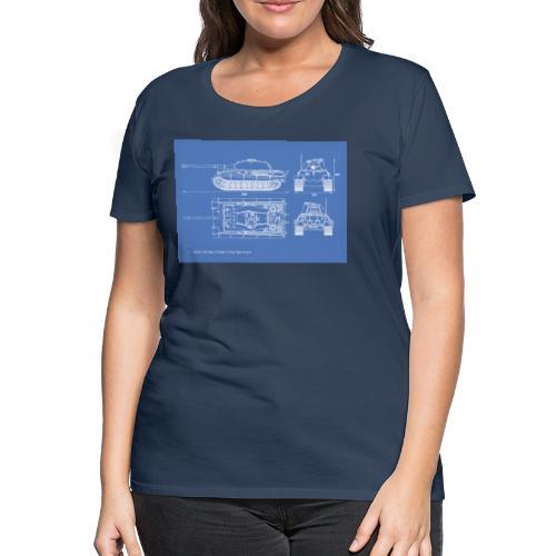 Königstiger - Frauen Premium T-Shirt