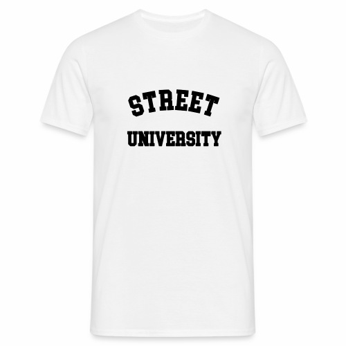 Street University T-shirt - Männer T-Shirt