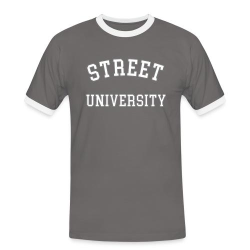 Street U  T - Männer Kontrast-T-Shirt