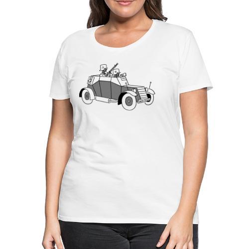Kfz 13 Badewanne - Frauen Premium T-Shirt