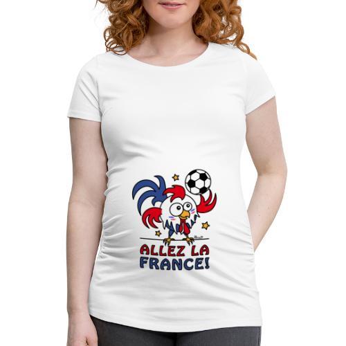 T-shirt de grossesse Femme Allez la France - T-shirt de grossesse Femme