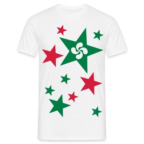 Basque Stars - T-shirt Homme