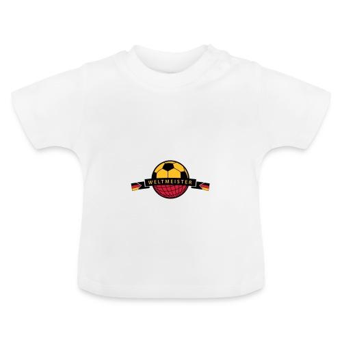 Weltmeister Vorfreude - Baby T-Shirt