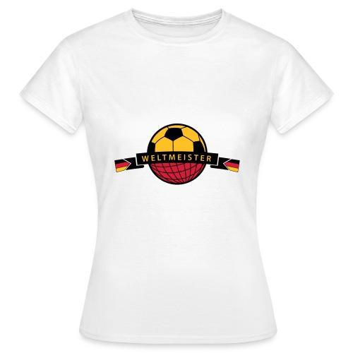 Weltmeister Vorfreude - Frauen T-Shirt