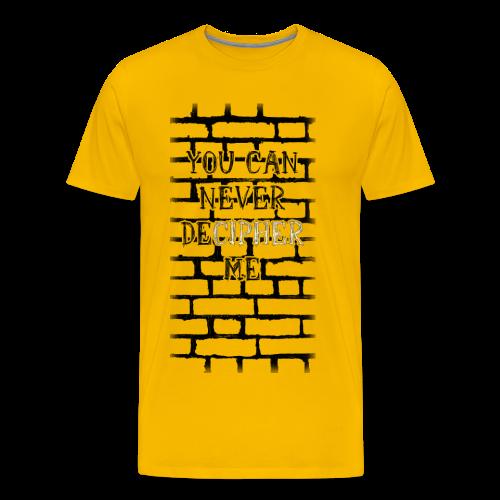 Männershirt - DeCipher - Männer Premium T-Shirt