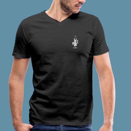 Loki shirt - small logo - T-shirt ecologica da uomo con scollo a V di Stanley & Stella