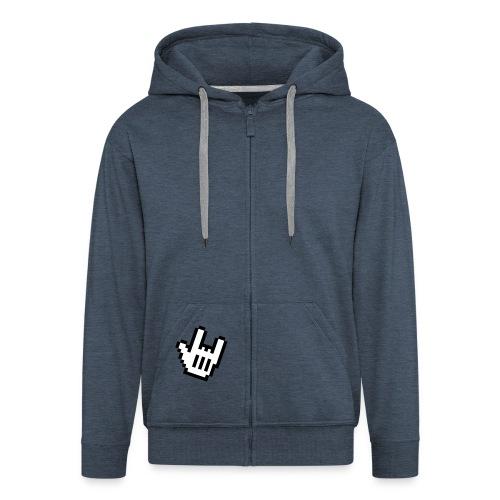 HEAVY! - Men's Premium Hooded Jacket