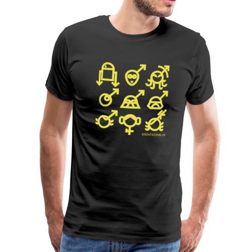 IDENTICONS   Krieg der Sterne Star - Männer Premium T-Shirt