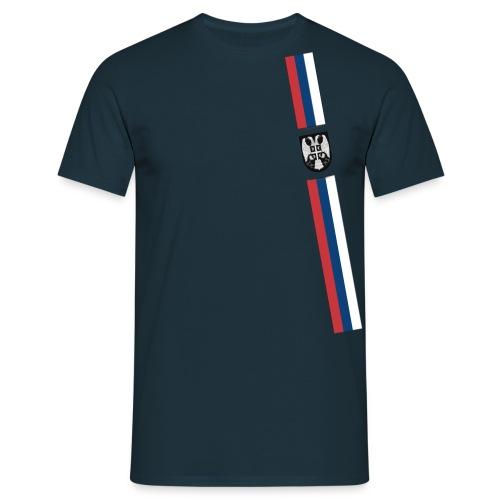 Srbija Flag III - Eagle 1 - Männer T-Shirt