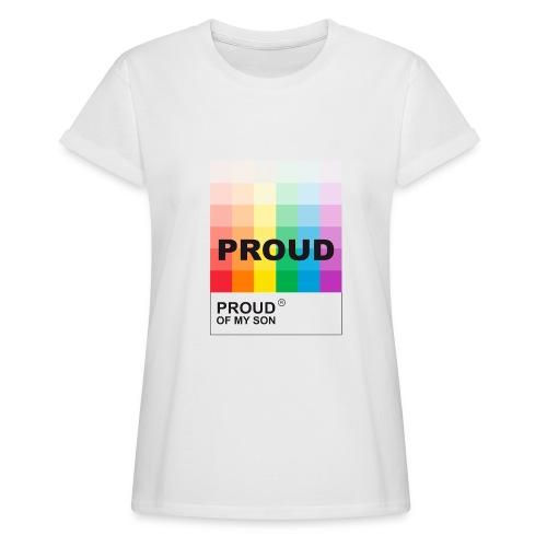 Camiseta holgada de mujer
