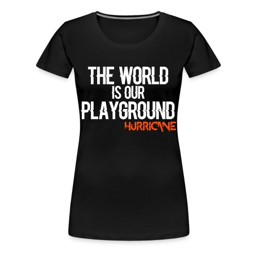 TWIOP - Girl Orange - T-shirt Premium Femme