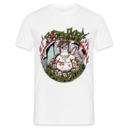 Rotzflash Bonzenkiller T-shirt - Männer T-Shirt