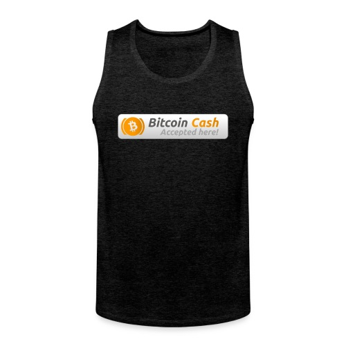 BitCoin Cash here! - Men's Premium Tank Top