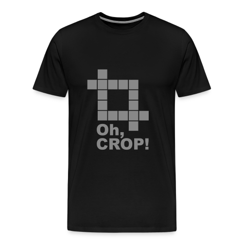 Oh, CROP! - Männer Premium T-Shirt