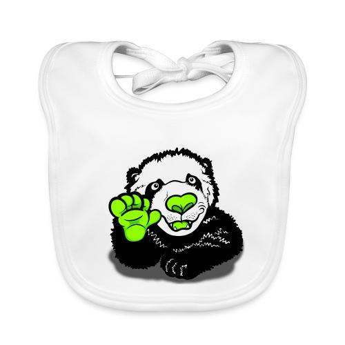 Hello Happy Panda  - Baby Organic Bib