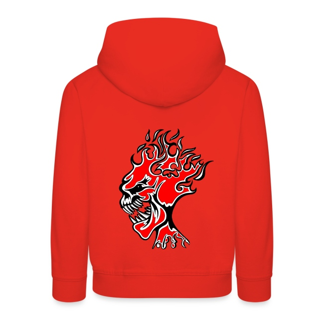 Flaming Burn Head