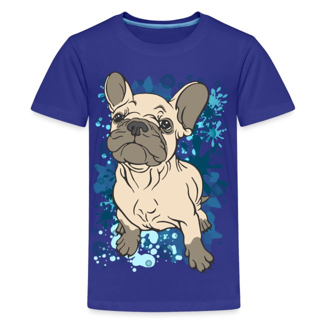 French Bull Dog Splash