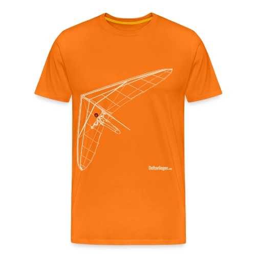 Deltavlieger Joost T-shirt - Mannen Premium T-shirt