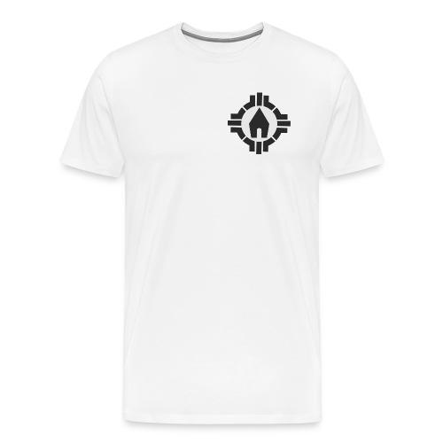 SMJ - T-Shirt (Logo sw Brust) - Männer Premium T-Shirt