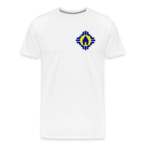 SMJ - T-Shirt (Logo bunt Brust) - Männer Premium T-Shirt