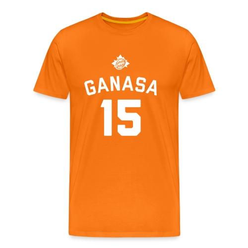 Maglietta Ganas 15 Arancione - Gnagno - Maglietta Premium da uomo
