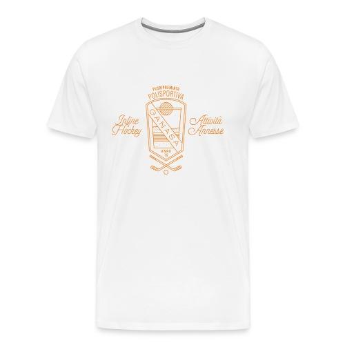 Maglietta Polisportiva Ganasa –Gnagno - Maglietta Premium da uomo