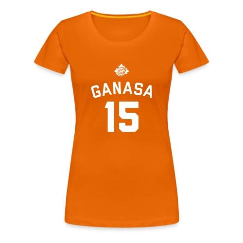 Maglietta Ganas 15 Arancione - Gnagna - Maglietta Premium da donna