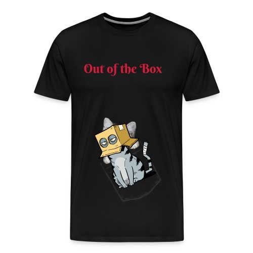 T-Shirt Herren - Out of the Box - Männer Premium T-Shirt