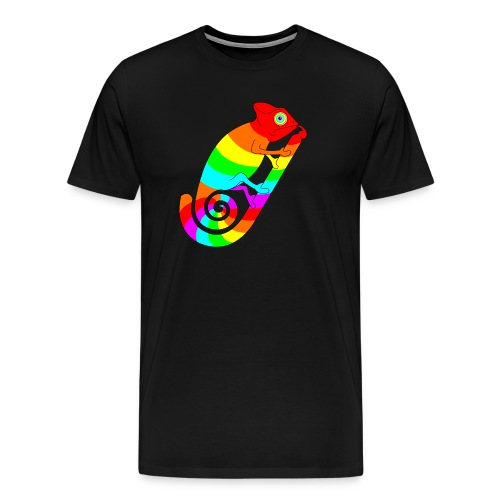 Pride Summer Chameleon - Premium-T-shirt herr