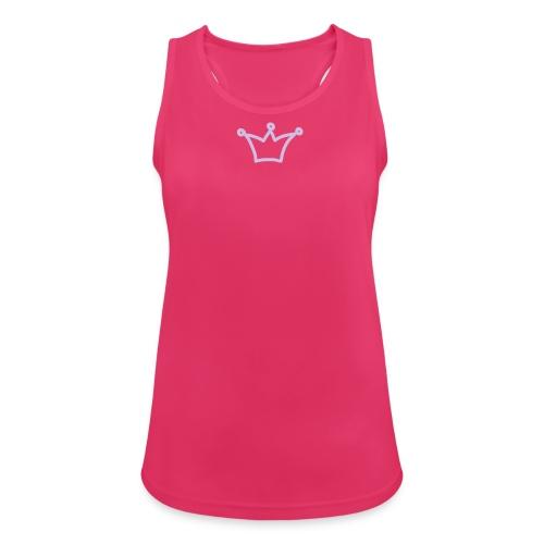 iYpsilon Sport Top Prinzessin - Frauen Tank Top atmungsaktiv