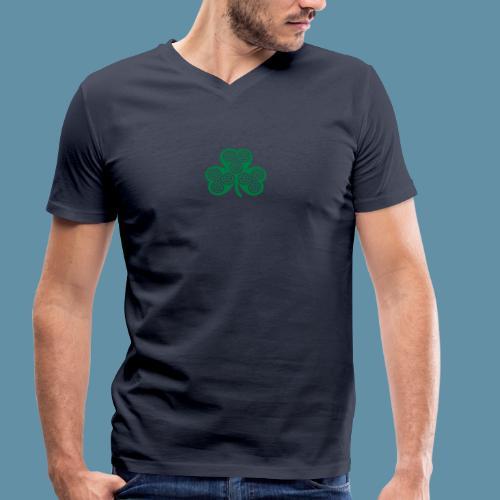 Shamrock shirt - T-shirt ecologica da uomo con scollo a V di Stanley & Stella