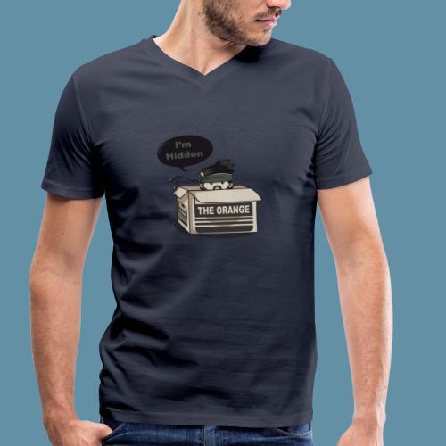 Metal Gear Solid - Snake Hidden special edition - T-shirt ecologica da uomo con scollo a V di Stanley & Stella
