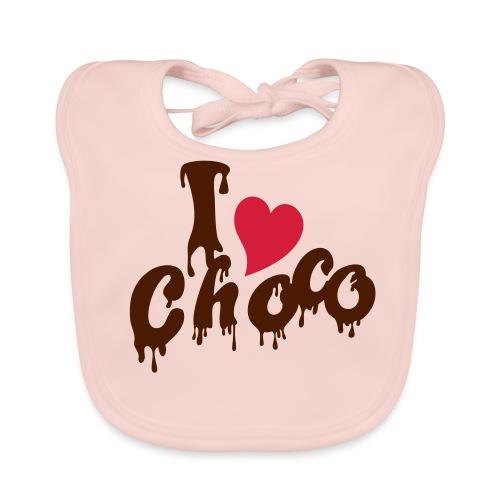 Schokolade - Baby Bio-Lätzchen