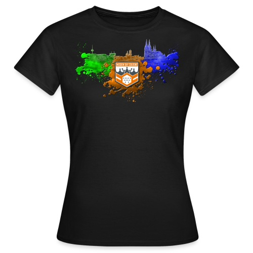 Frauen Shirt MD CGN ColorSplash - Frauen T-Shirt