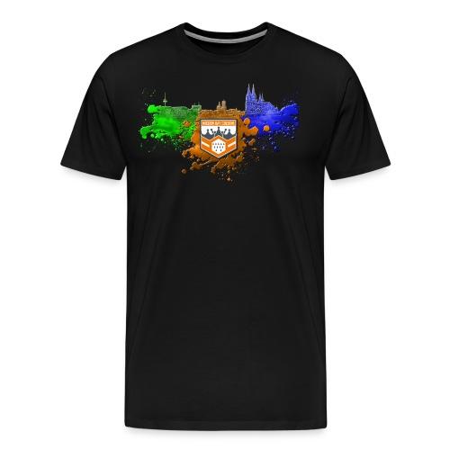 Männer Premium Shirt MD CGN ColorSplash - Männer Premium T-Shirt