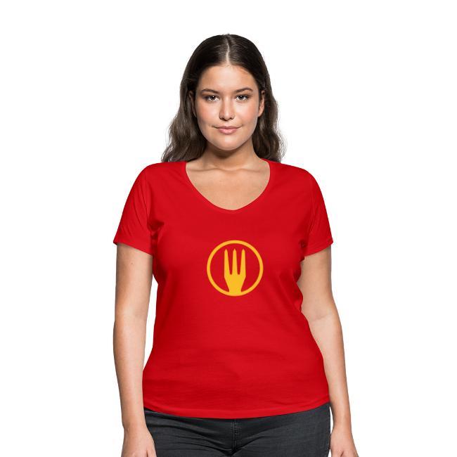 Frietvork Belgium 2018 - vrouwen t shirt - trident