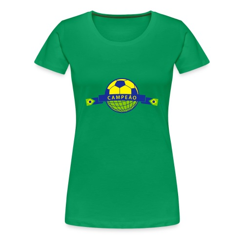 Brasil copa - Frauen Premium T-Shirt