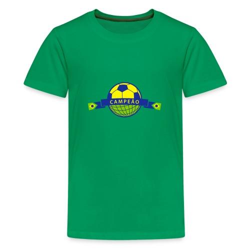 Brasil copa - Teenager Premium T-Shirt