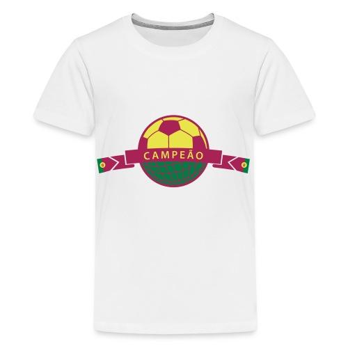 Portugal Copa Mundial - Teenager Premium T-Shirt