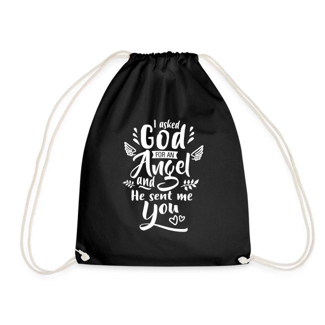 Jag bad Gud om en ängel Väskor & ryggsäckar
