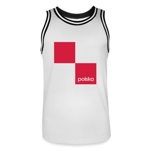 Poland Tank Top Trikot - Männer Basketball-Trikot