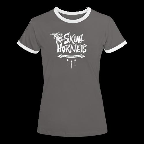 Skull Hornets - Women's Ringer T-Shirt