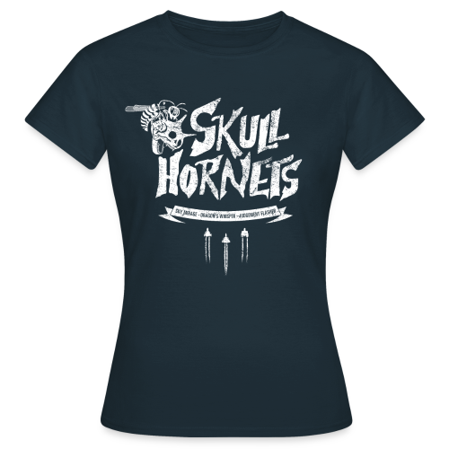 Skull Hornets - Women's T-Shirt