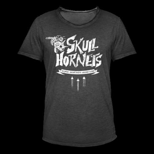 Skull Hornets - Men's Vintage T-Shirt