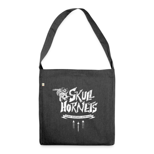 Skull Hornets - Shoulder Bag made from recycled material