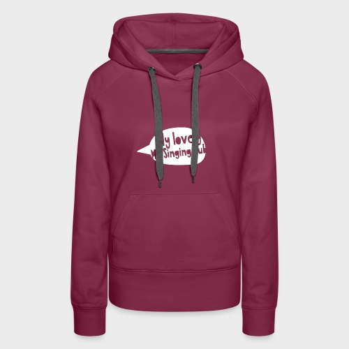 MLMSC - Logo Hoodie (woman) - Frauen Premium Hoodie