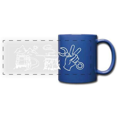 Kaffeepott - Panoramatasse farbig